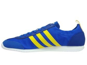 BB9679 adidas NEO VS Jog Blue/Eqt Yellow/Collegiate Royal