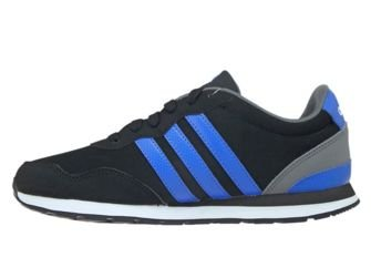 BC0081 adidas V JOG K Core Black/Blue/Ftwr White