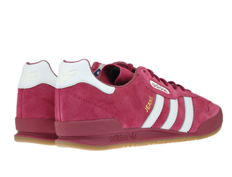 BY9773 adidas Jeans Super Mystery Ruby/Ftwr White/Gold Metallic