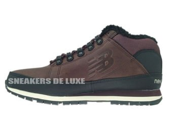 HL754BB New Balance Brown / Black Leather Fur