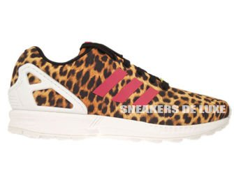 M21365 adidas ZX Flux 8K Textile Black/Vivid Berry/Running White