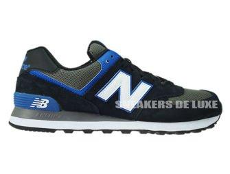 ML574AAB New Balance Black / White / Blue