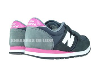 New Balance KE420GEY Black / White / Pink
