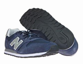 New Balance ML373NAY Navy/Silver ML373NAY New Balance \ mens  