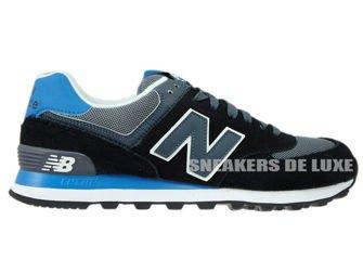 New Balance ML574CPU Black / Grey / Blue