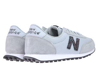 New Balance WL410BU Silver Mink with Black
