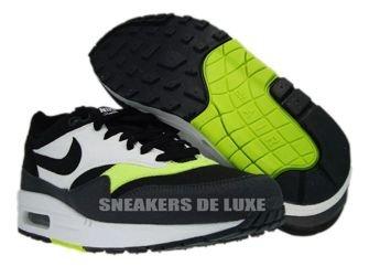 Nike Air Max 1 Black/Anthracite Volt White