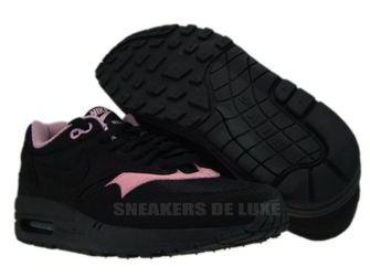 Nike Air Max 1 Black/Black-Perfect Pink