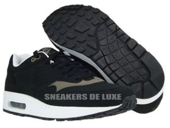 Nike Air Max 1 Black/Black-Smoke-White 308866-021