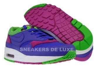 Nike Air Max 1 Pure Purple/Pure Purple-Medium Green-Rave Pink 319986-551