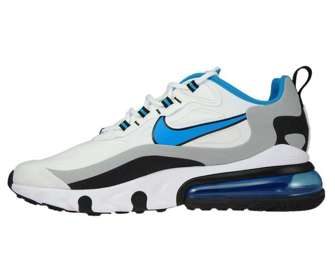 Nike Air Max 270 React CT1280-101 White/Laser Blue-Wolf Grey