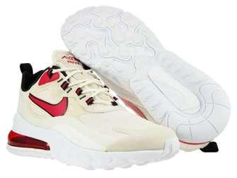Nike Air Max 270 React CT1280-102 Light Orewood Brown/Cardinal Red