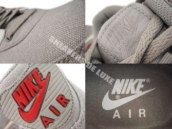 Nike Air Max 90 Medium Grey/Sail-Varsity Red 345188-003
