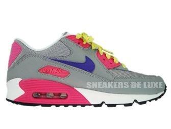 Nike Air Max 90 Medium Grey/Varsity Purple 309298-003