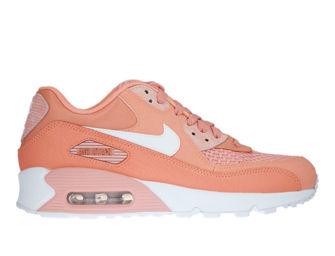 Nike Air Max 90 SE 881105-604 Crimson Bliss/White-Coral Stardust