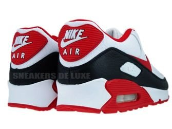 Nike Air Max 90 White/Sport Red-Black 375572-101