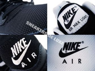 Nike Air Max Light Black/White 385474-011