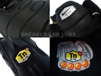 Nike Air Max Plus TN 1 Black/Chrome Metallic/Silver 604133-005
