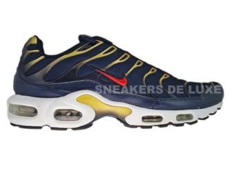 Nike Air Max Plus TN 1 Obsidian/Sport Red-Metallic Gold-Black 604133-408