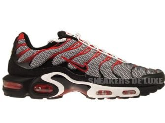 Nike Air Max Plus TN 1 White/Black-Challenge Red