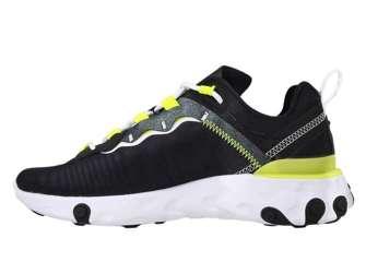 Nike React Element 55 SE CN3591-001 Black/White-Lenom Venom