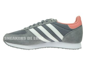 S74985 adidas ZX Racer Grey / Ftwr White / Peach Pink