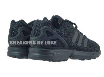 S77311 adidas ZX Flux core black / core black / core black