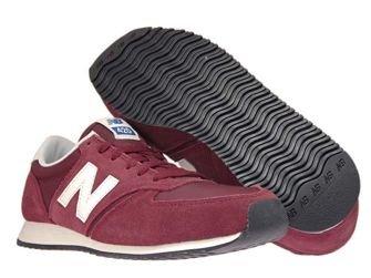 U420RDW New Balance Dark Red with Off White